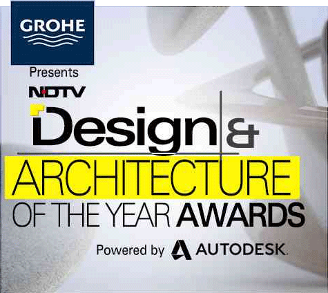NDTV – Design and Architecture of the year Awards Banner