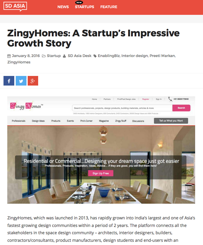ZingyHomes: A Startup's Impressive Growth Story