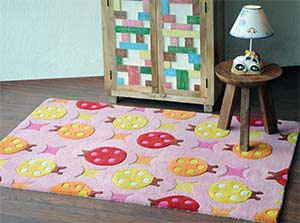 Beetle Hand-tufted Soft Wool Rugs  image