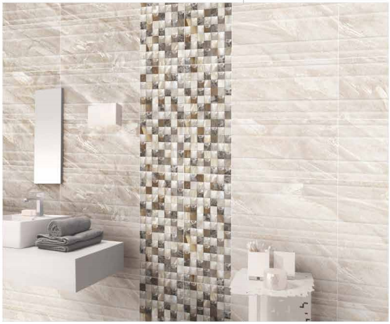 Varmora digital wall tiles latest bathroom d cor trends for Latest bathroom tiles design