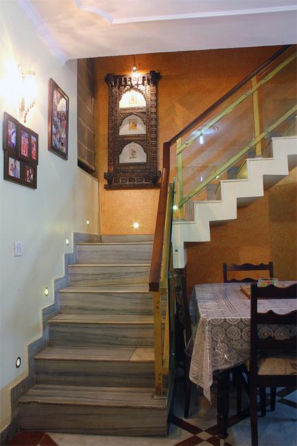 Johars love their chic duplex apartment interior design for Duplex house interior designs in india