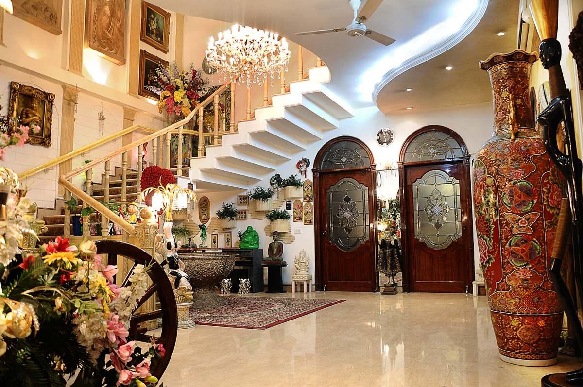 shahnaz husain home celebrity home interior design india