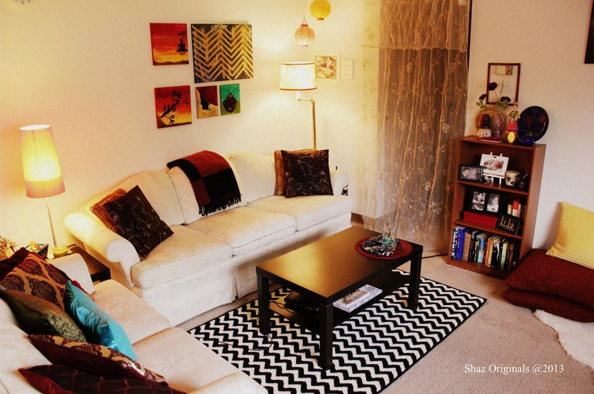 1 bhk flat interior design decoration ideas photos images for Small flat furnishing ideas