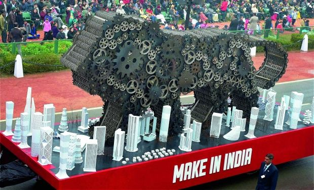 Make in India tableau