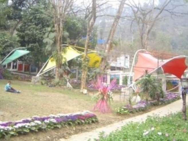 Entrance to the Sikkim Flower Show