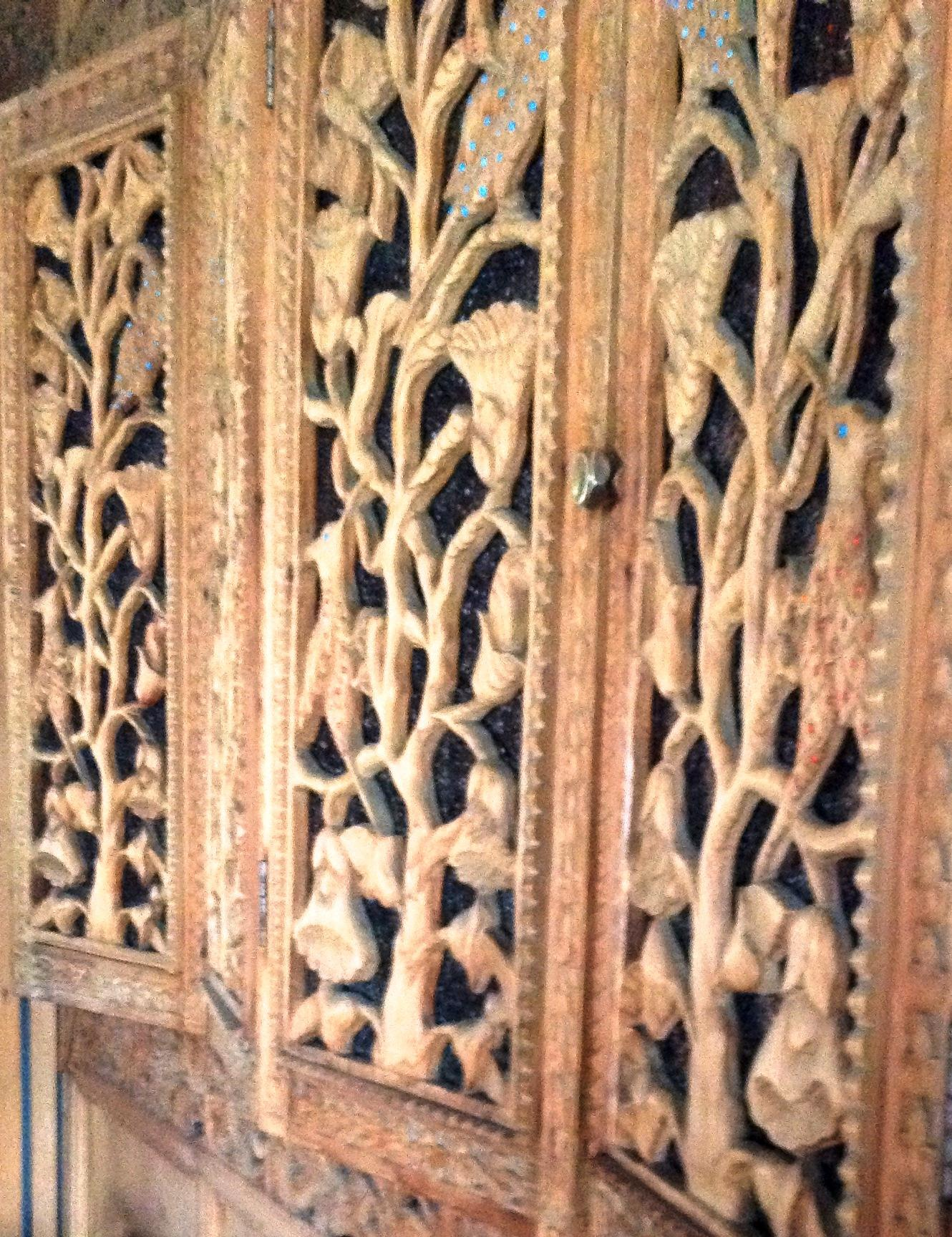 Hand Carved Wall Panel