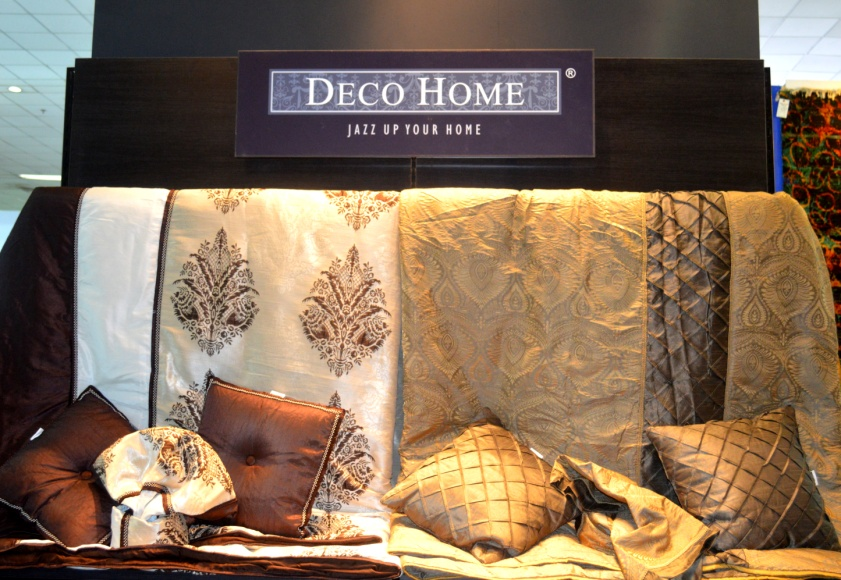 Display at Deco Windows and Deco Homes