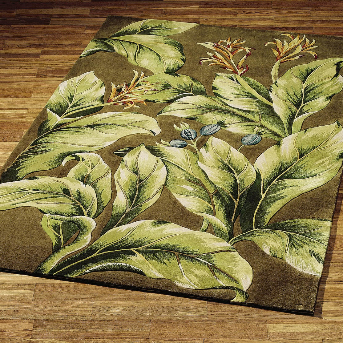 Floral and Tropical Rugs