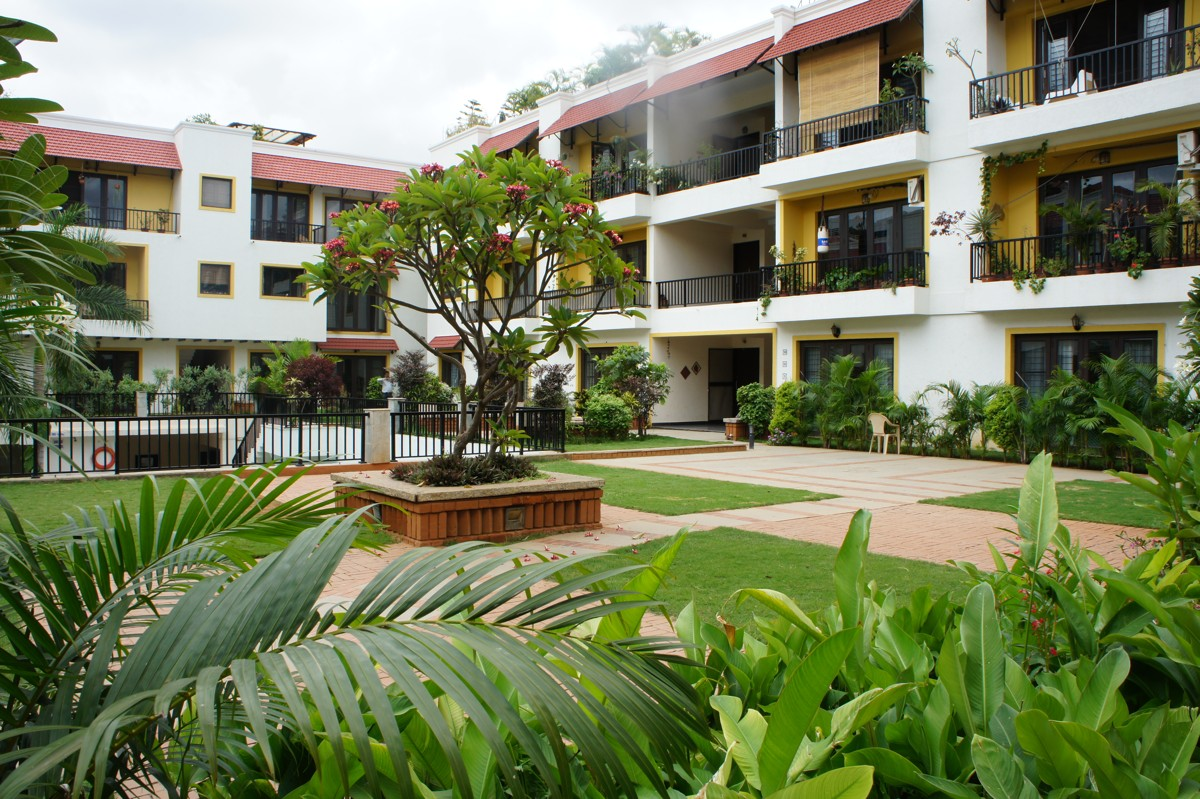 Landscape treatments for Waterwoods Apartments, Bangalore