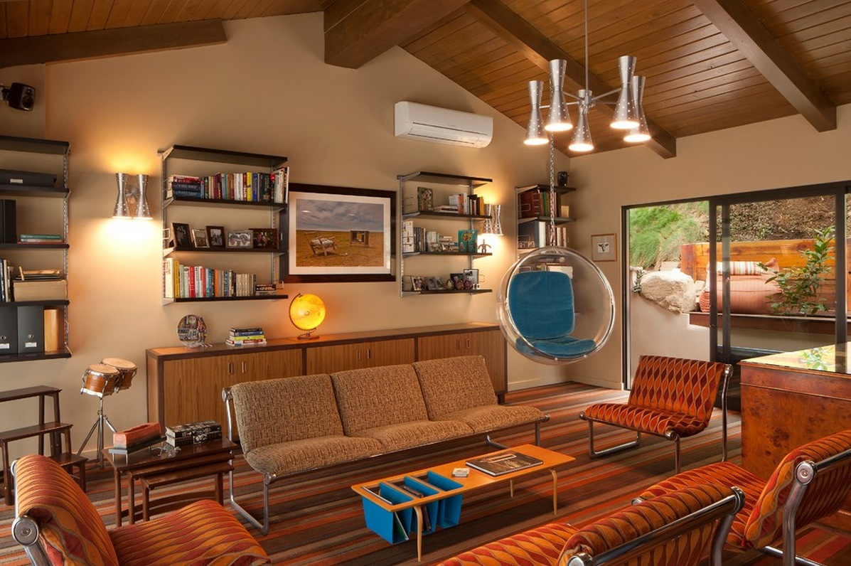 Awesome Retro Furniture Living Room Ideas