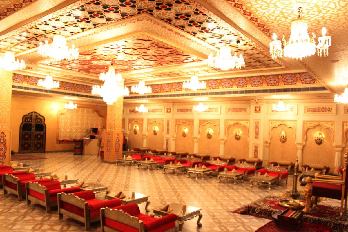 Virasat heritage restaurant jaipur interiors traditional