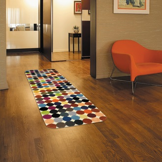Contemporary runner rugs roselawnlutheran for Contemporary runner rugs for hallway