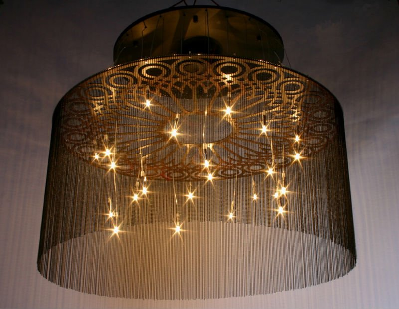 Decorative crystal ceiling hanging lights