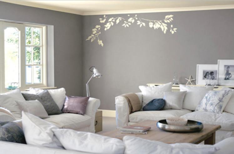 Captivating Gray Colour Design Wall