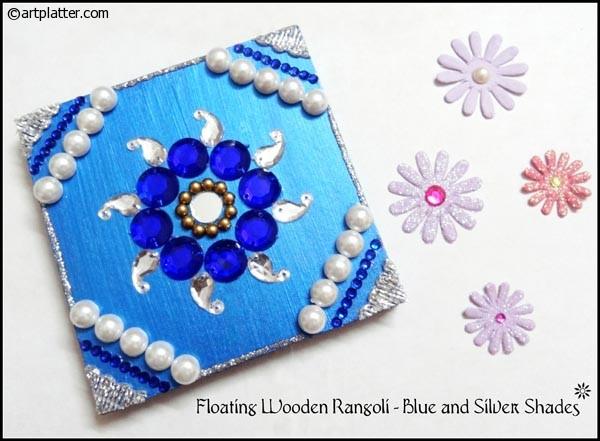 Diy diwali decoration ideas recycled diwali home decor for Home made rangoli designs