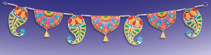 Diy diwali decoration ideas recycled diwali home decor for Decoratives from waste