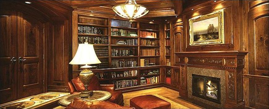 Awesome Classic Home Library Design Ideas - Interior Design Ideas ...