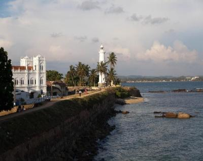 The old city of Galle
