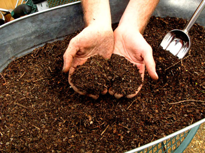 healthy nutrient mix for soil