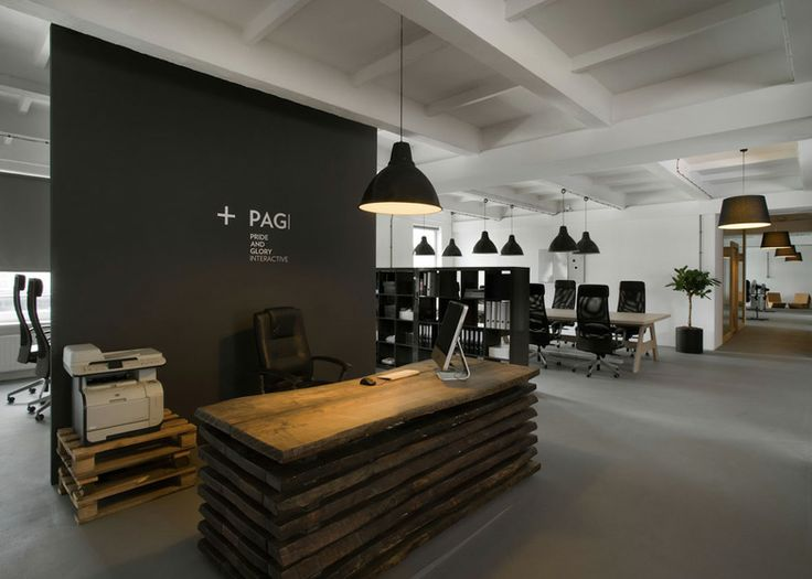 Creative office space interior design ideas tips cool for Unique office interiors