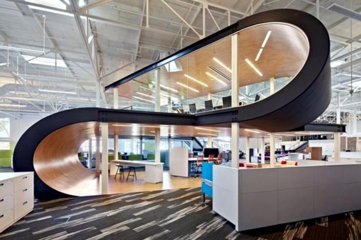 Modern Office Of Flash Design