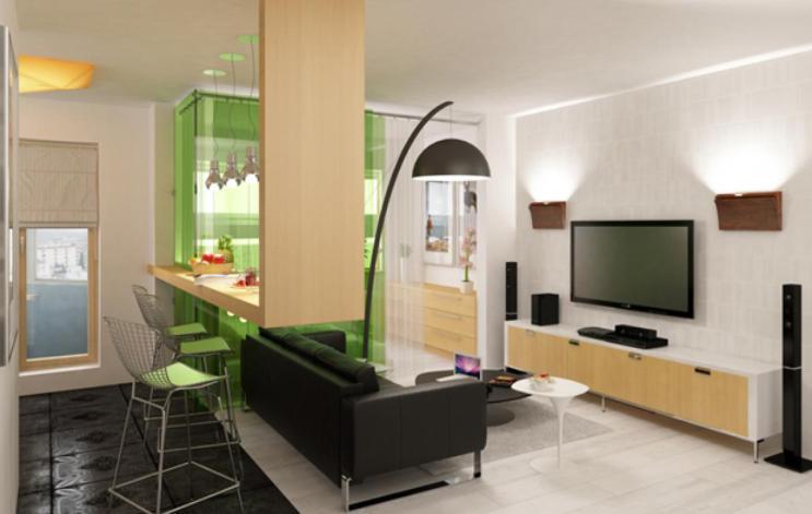 Studio Apartment Decor Ideas, Modern Small Apartment ...