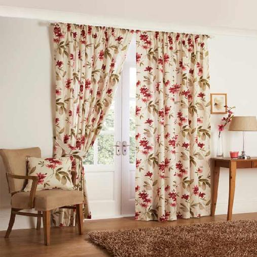 kenmare floral print curtain