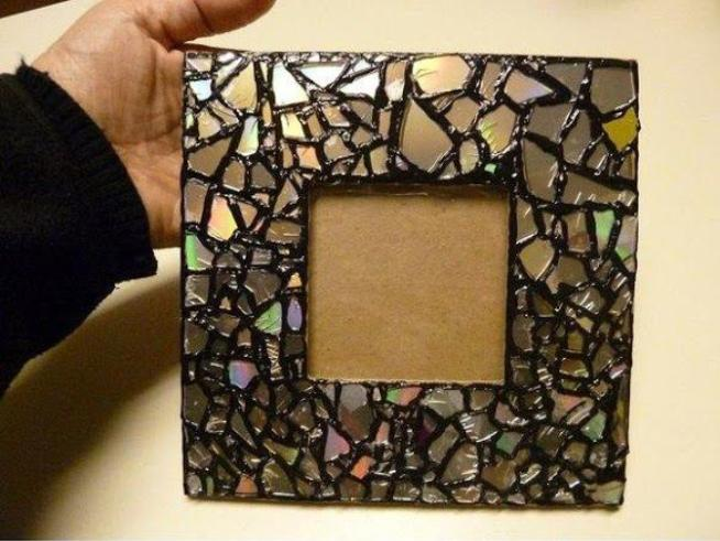 Easy simple diy home decor ideas diy decorating tips for Handmade picture frame ideas
