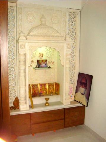Small Pooja Cabinet Designs, Small House Pooja Room Design ...