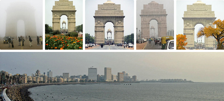 Difference in Design Ideologies a Delhi and Mumbai