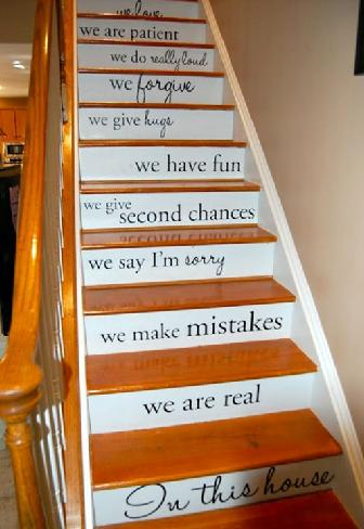 QuotePainted Staircase