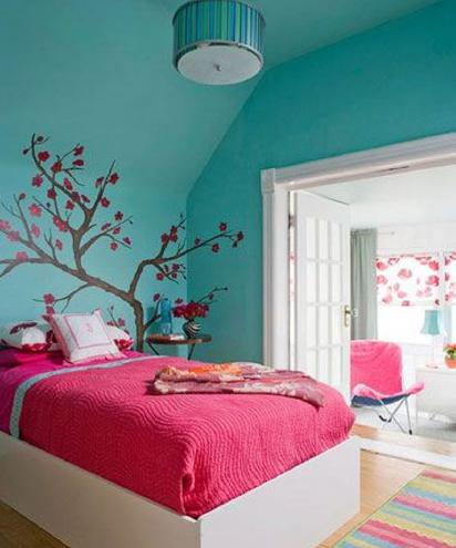 Bedroom color schemes bedroom color scheme ideas Blue teenage bedroom