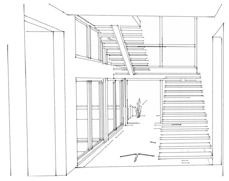 Staircase in the design process