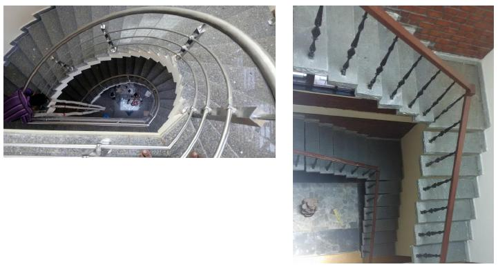 Helical Staircase & L Shaped Staircase