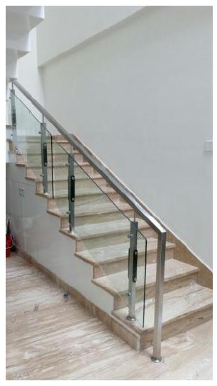 Staircase using Composite Materials
