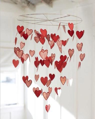 Valentine 39 s day decoration for home decor ideas diy for Home decorations for valentine s day