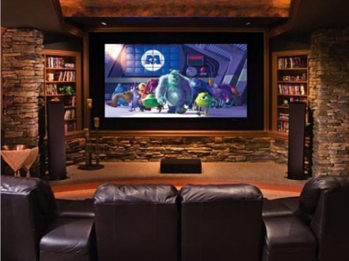 Man cave designs design ideas photos basement man caves for Design a man cave