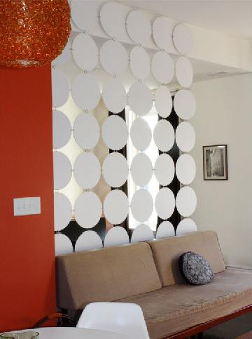 Paper room dividers