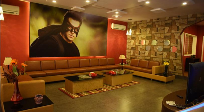 Salman Khan's chalet at 'Bigg Boss 9'