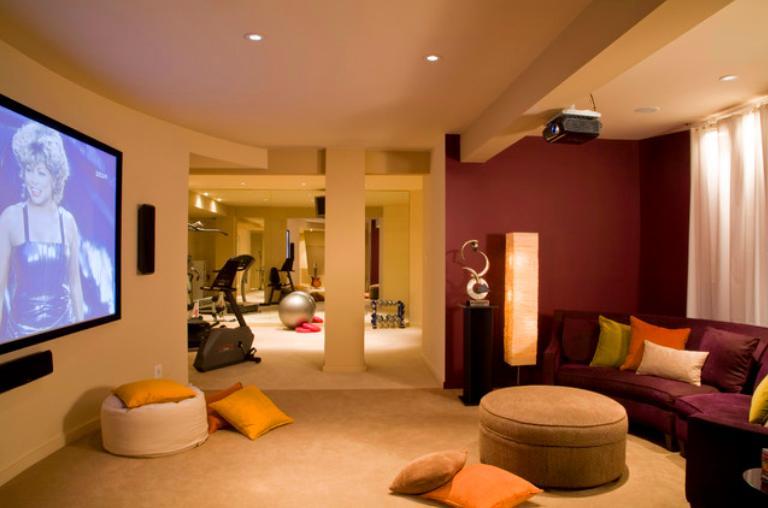 Home gym design ideas interior designs for homes
