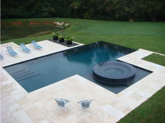 Contemporary pool designs modern swimming pool design for Pool design trends