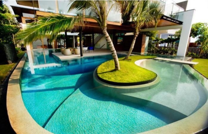 contemporary pool designs modern swimming pool design