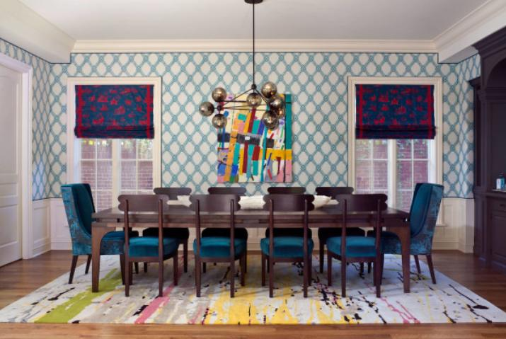 Eclectic dining room design ideas eclectic dining room for Latest dining room designs