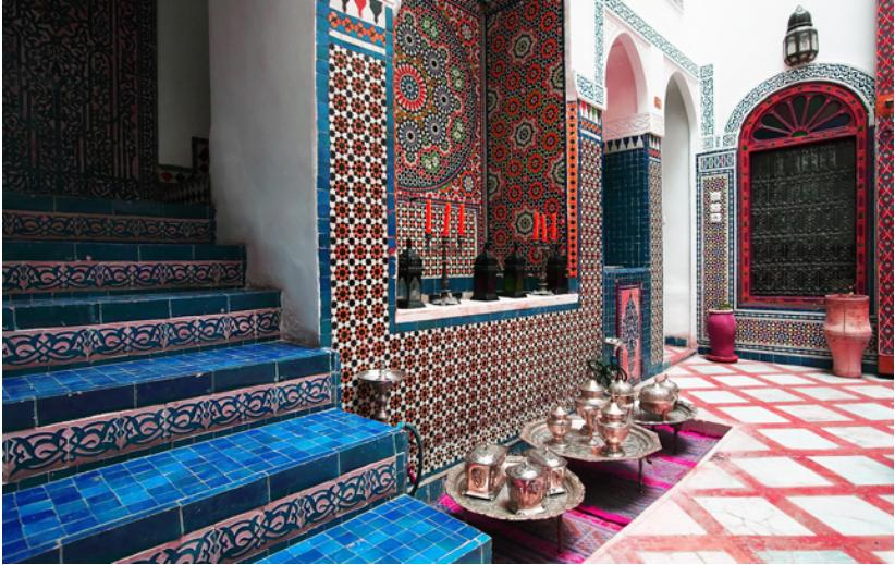 Moroccan Style Room. Cool Furniture Inspiring Moroccan Home Decor ...