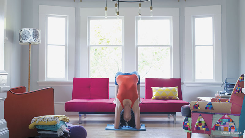 Yoga Space at Home
