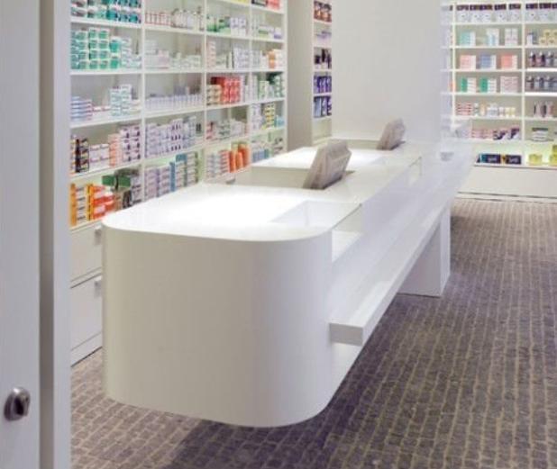 Retail Cash Desk Design