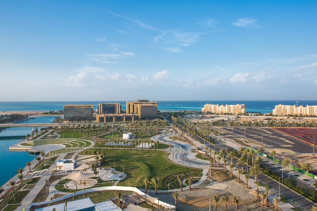 King Abdullah Economic City is an emerging tourism destination on Saudi Arabia's Red Sea coast