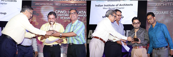 CPWD, Kolkata and Square Consultancy receiving the award