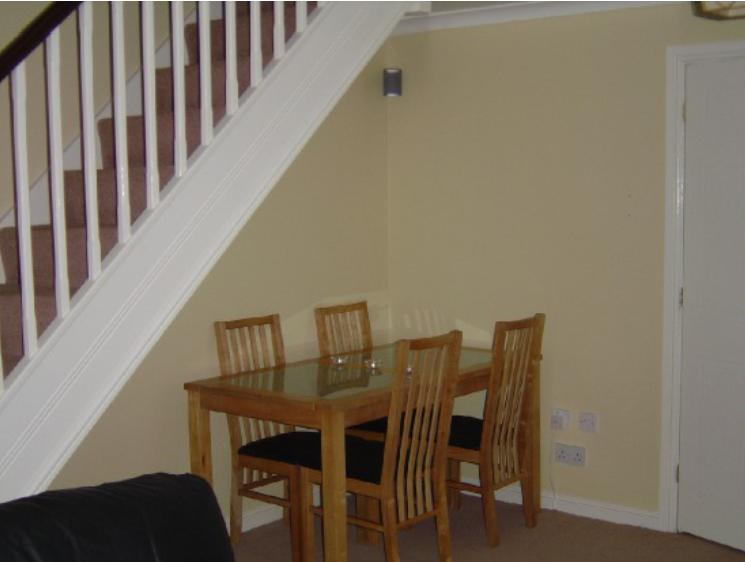 Dining Table Under Staircase