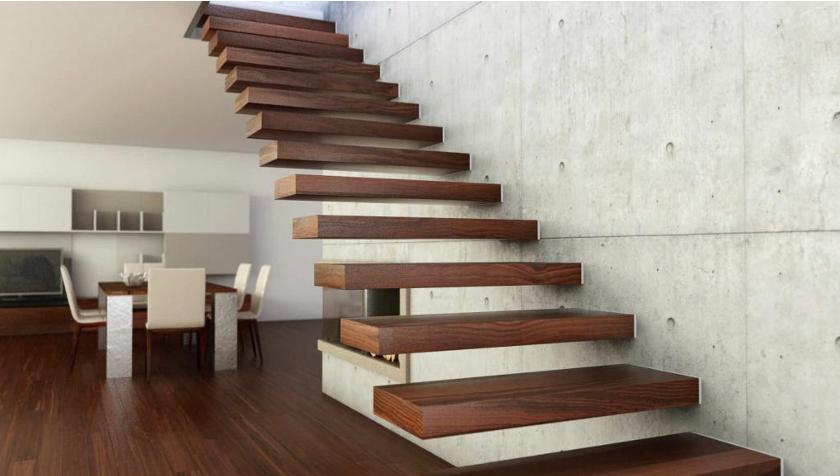 Dining Room With Staircase Stairs Designs Table Under